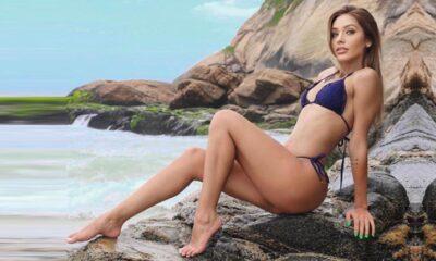 Modelo Sabrina Mingnini recebe proposta de agência internacional