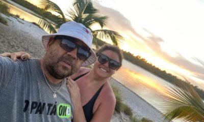 Alessandra Astolphi e o marido - Foto: Acervo Pessoal