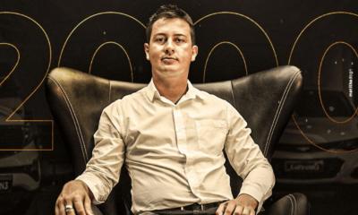Ex-Funcionário, empreendedor e visionário, Christoffer Carvalho vendeu 1.300 carros sozinho e bate novos recordes usando a internet