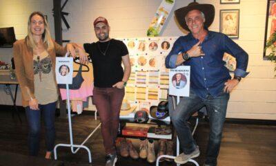 Oscar Magrini e Thaís Pacholek com o Diretor Gui Pereira - Foto: Renato Cipriano / Divulgação